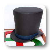 Top Hat Cake