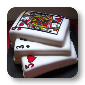 Fanned Cards Cake