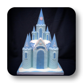 Princess Ice Castle Cake