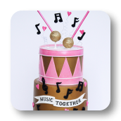 Music Together Cake