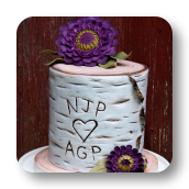 Birch & Zinnia Cake