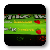 Mike and Ike Cake- 40th Birthday!
