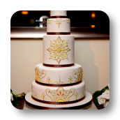 Morocan Wedding Cake