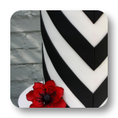 V-Stripes and Poppies