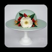 Southern Belle Magnolia Hat