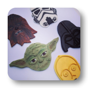 Star Wars Cupcakes Toppers