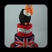 "65"" Birthday Cake"
