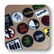 Punk Rock Cupcake Toppers (edible)