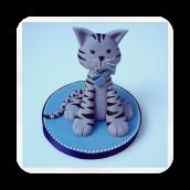 Kitty Cat Cake Topper