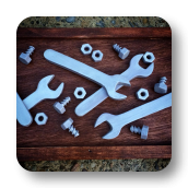 Edible Nuts, Bolts & Wrenches