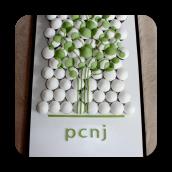 Print Making Council of NJ (PCNJ) Logo Cupcakes