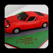 1969 Lamborghini Miura Cake
