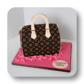 Sculpted Hand Bag Cake