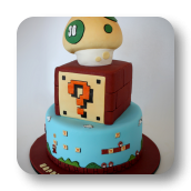 Original Super Mario Brothers Cake- 30th Birthday