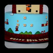 Original Super Mario Brothers Cake- 30th Birthday