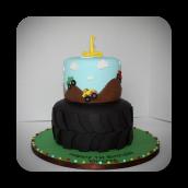 Lil' Monster Truck Cake