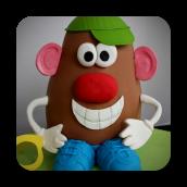 Mr. Potato Head Cake