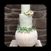 Ethereal Wedding Cake