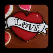 Valentine's Sugar Cookie