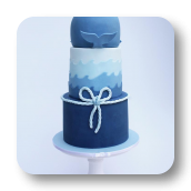 Baby Whale Cake